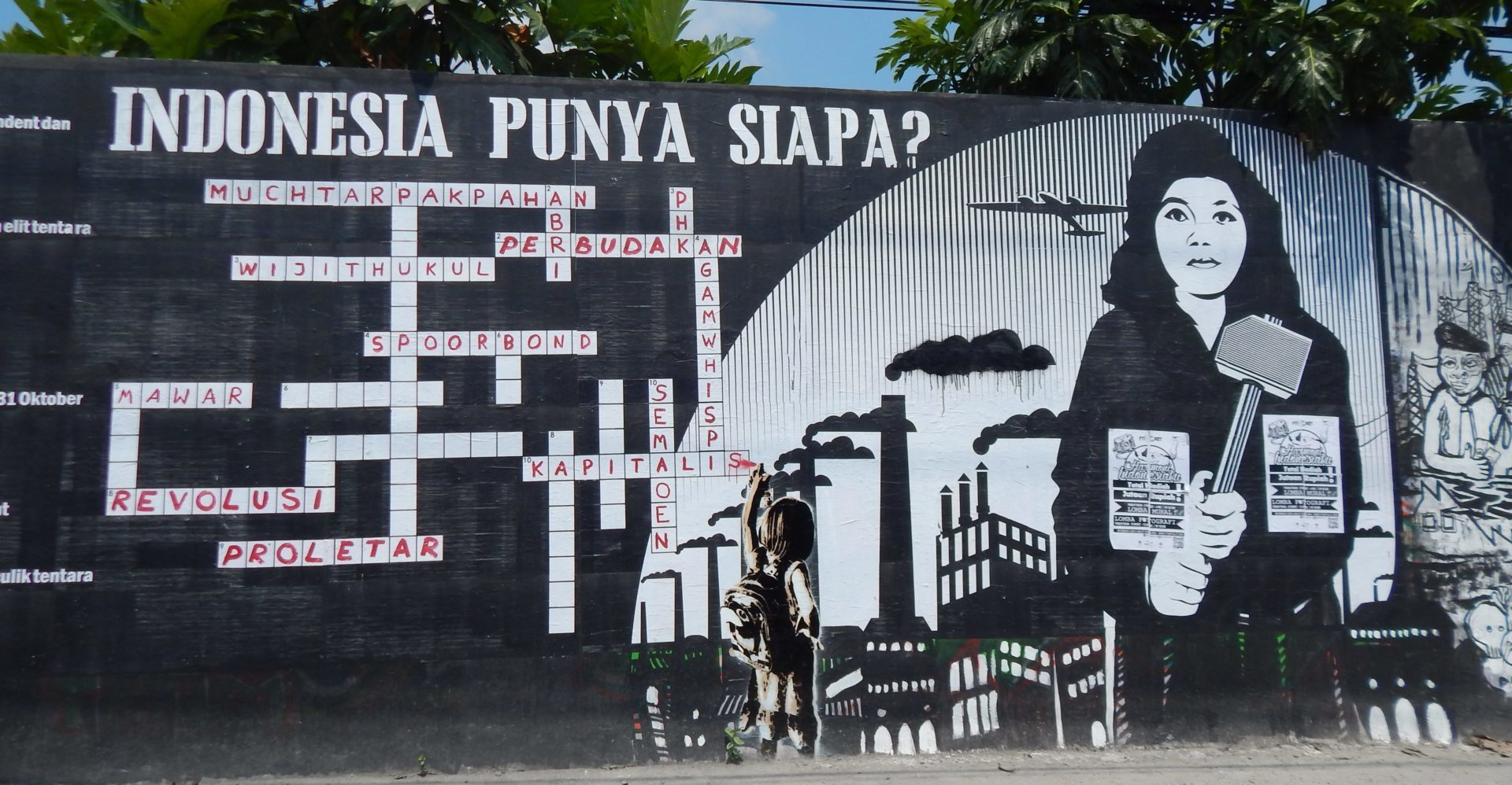 Indonesien Street Art
