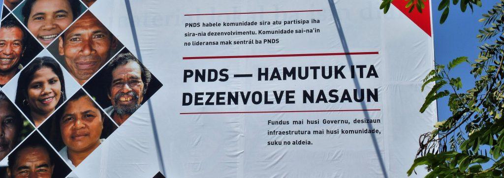 Regierungsprogramm zur Entwicklungspolitik © Monika Schlicher