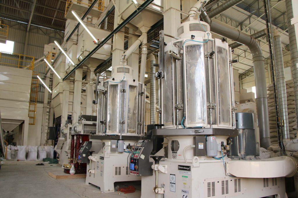 In Maschinen zur Reisverarbeitung wurde viel investiert. © AMRU RICE