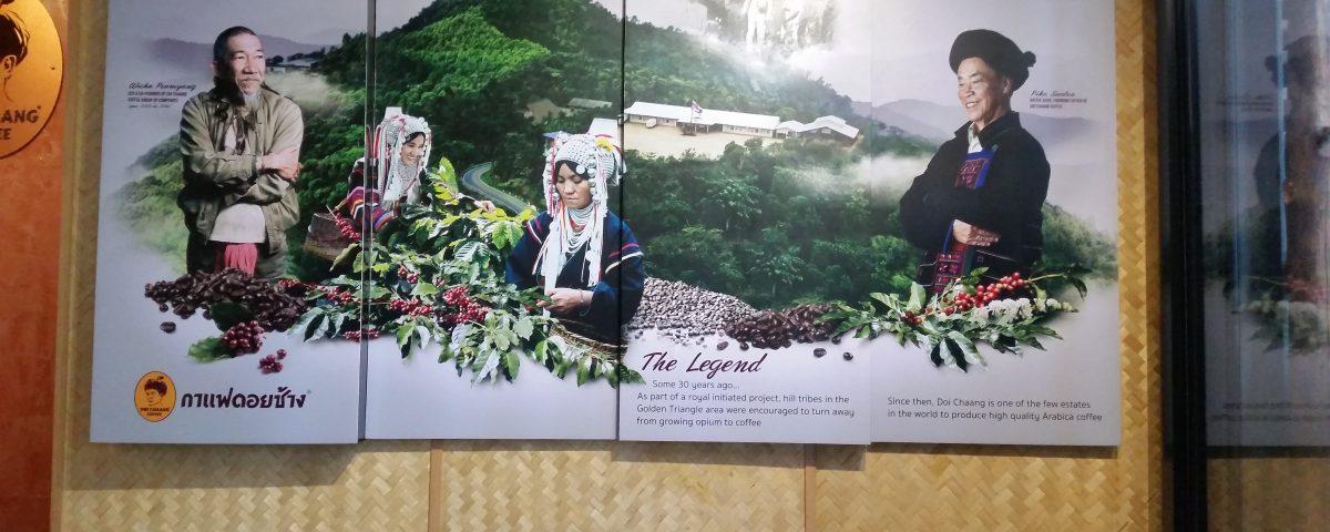 Die Kultur der Akha wird offensiv als Werbemittel eingesetzt © Eva Kunkel