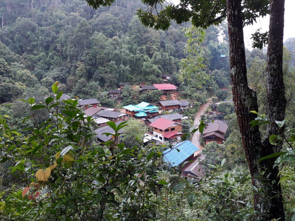 Das Dorf Huay Hin Lad Nai © Verena Wittrock