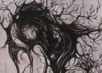 Mystik der Wälder, Zeichnung von © Joyce Fendel