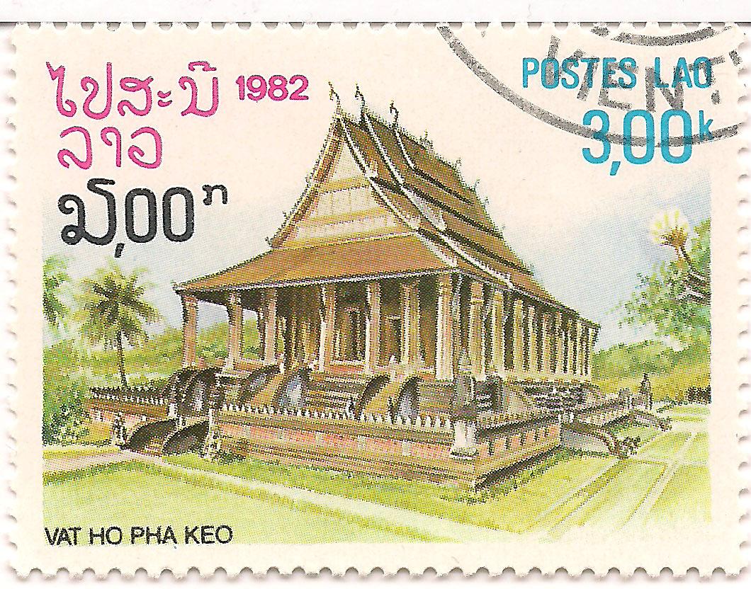Briefmarke mit dem Ho Pha Kaeo © Oliver Tappe