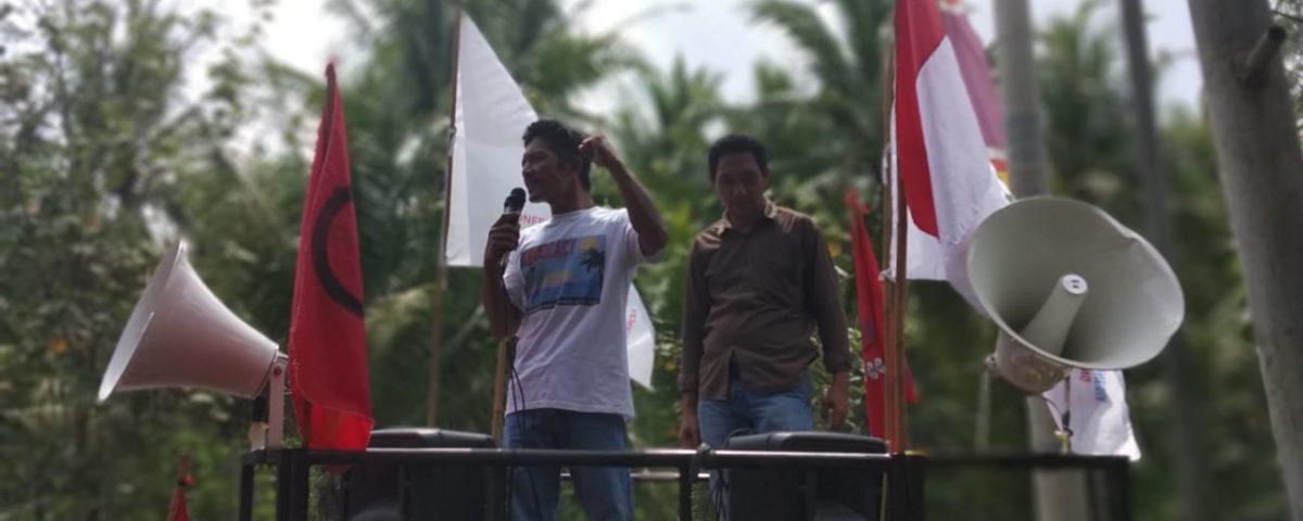 Indonesien: Protest gegen union busting, 2019 © FSBKU