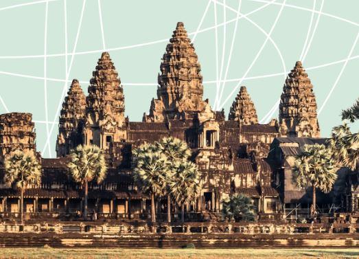 Ausschnitt Buchcover: Patrick Deville: Kampuchea © Unionsverlag