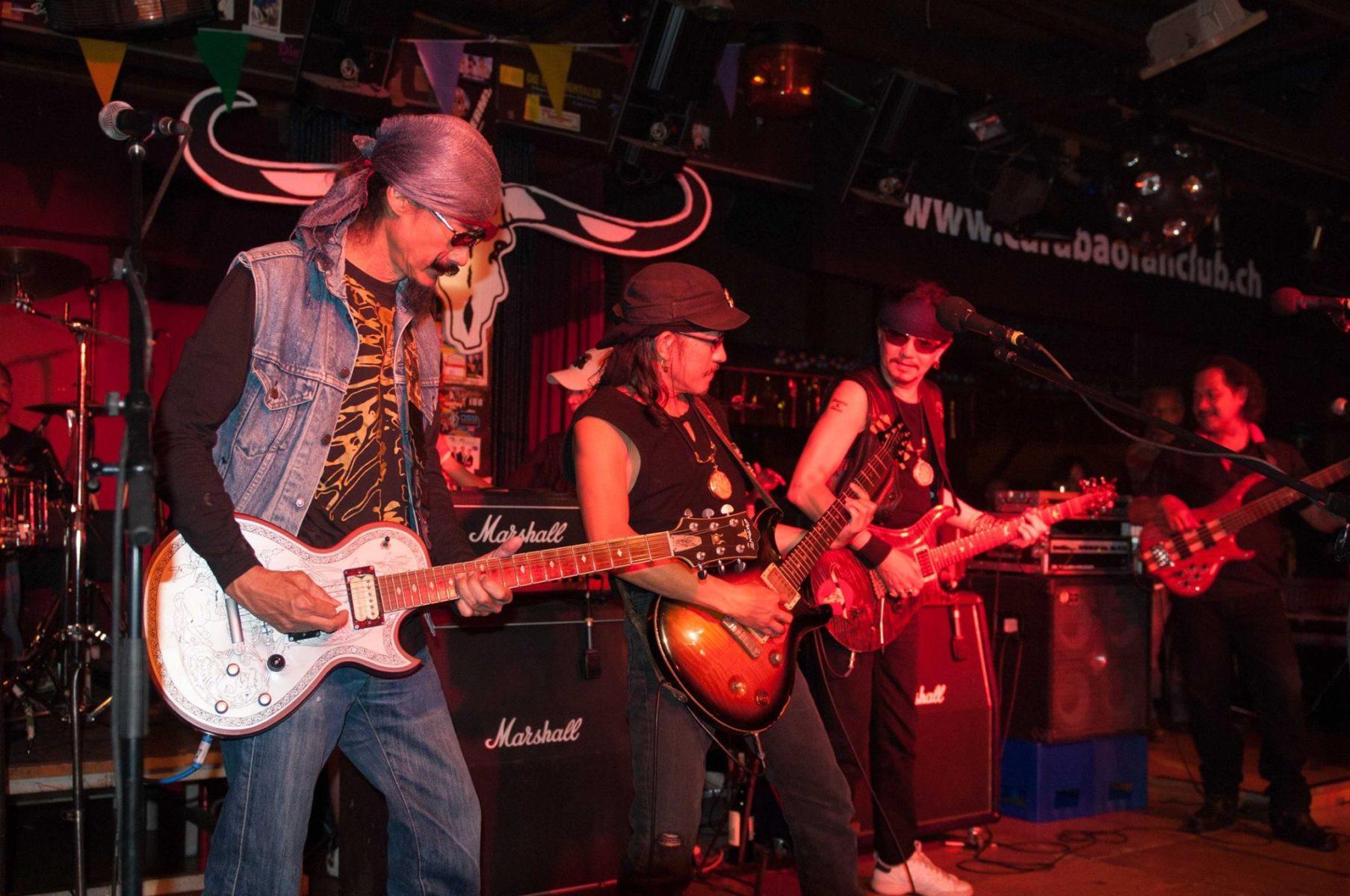 Die Band Carabao am 6. Juni 2008 in der Schweiz © Pierre Theze, CC BY-SA 3.0