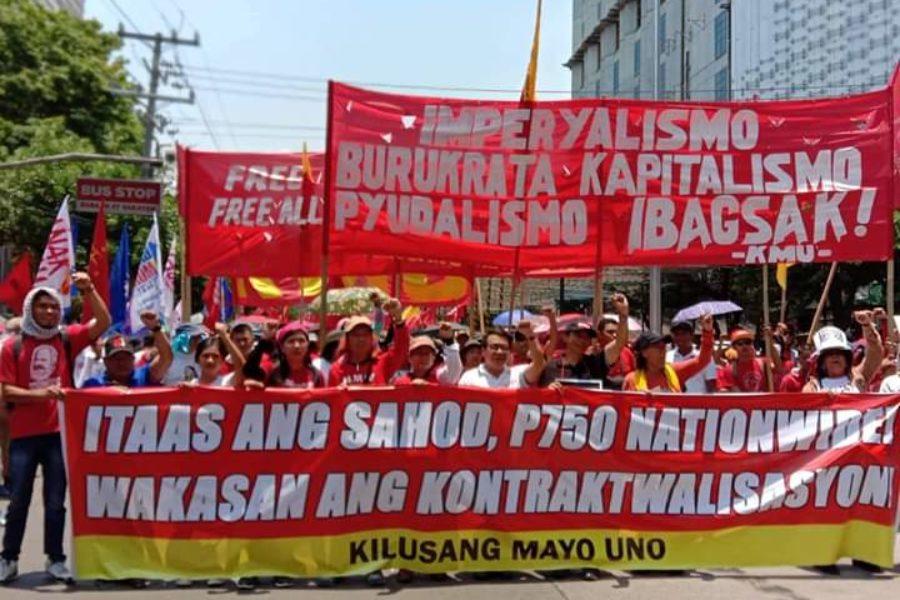 Zentrale Forderungen: Erhöhung des Mindestlohns landesweit auf 750 Peso pro Tag (12,90 Euro) – von aktuell 537 Peso (9,25 Euro) und Beendigung der Kontraktarbeitsverhältnisse © Levinia Francisco