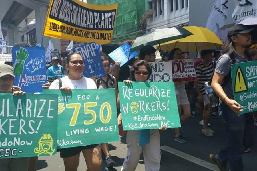 750 Peso Mindestlohn pro Tag statt 537 Peso zur Zeit (12,90 Euro statt 9,25 Euro) © Levinia Francisco