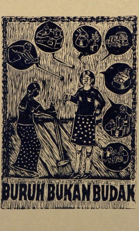 Arbeiter sind keine Sklaven © Taring Padi