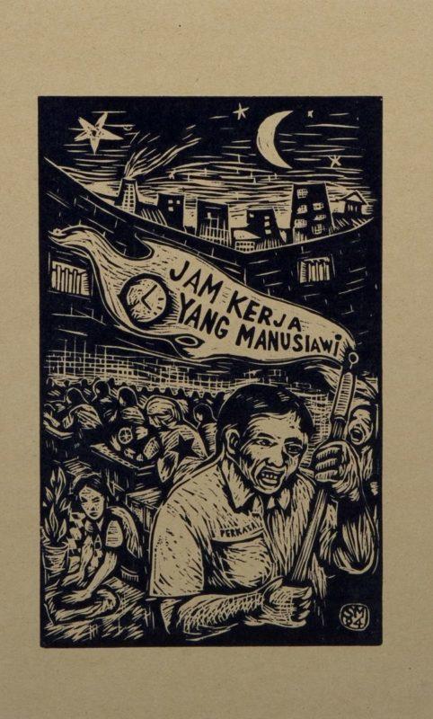 Menschliche Arbeitszeiten © Taring Padi