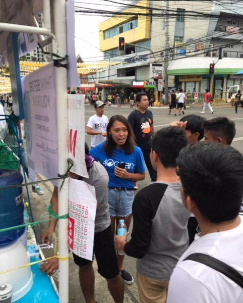 Aufklären über das philippinische Plastikmüllproblem © Alieth Bontuyan