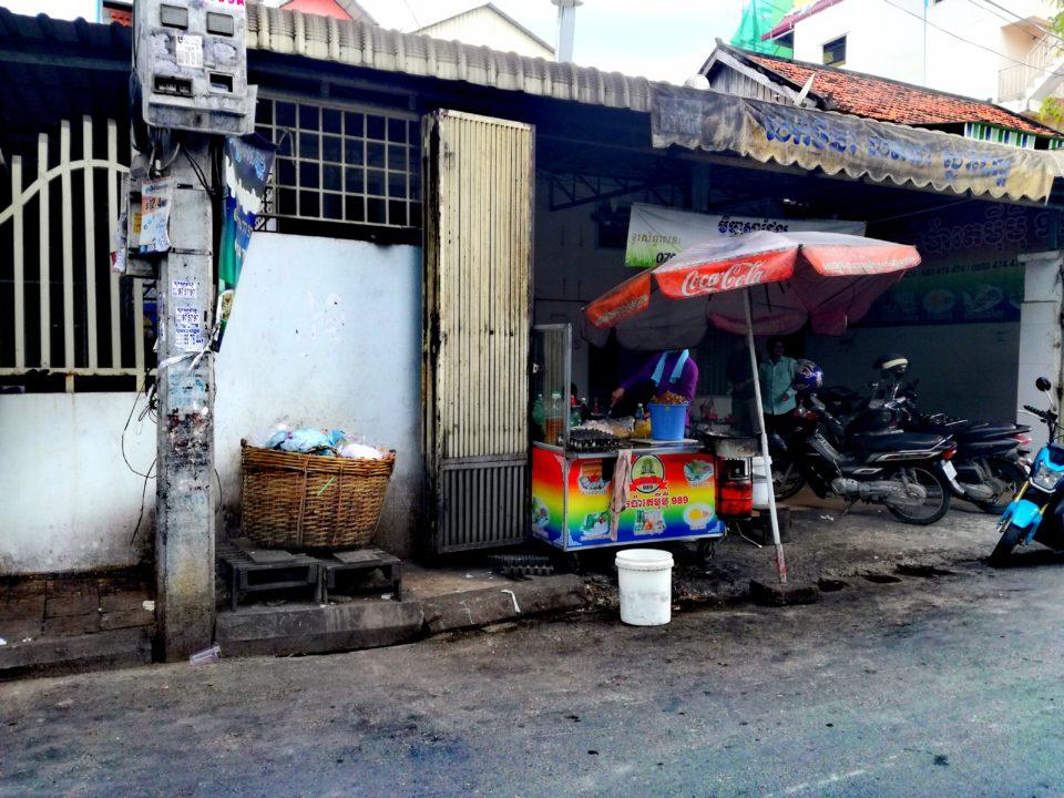 Coca Cola-Werbungen sind in Phnom Penh omnipräsent © Kathrin Eitel