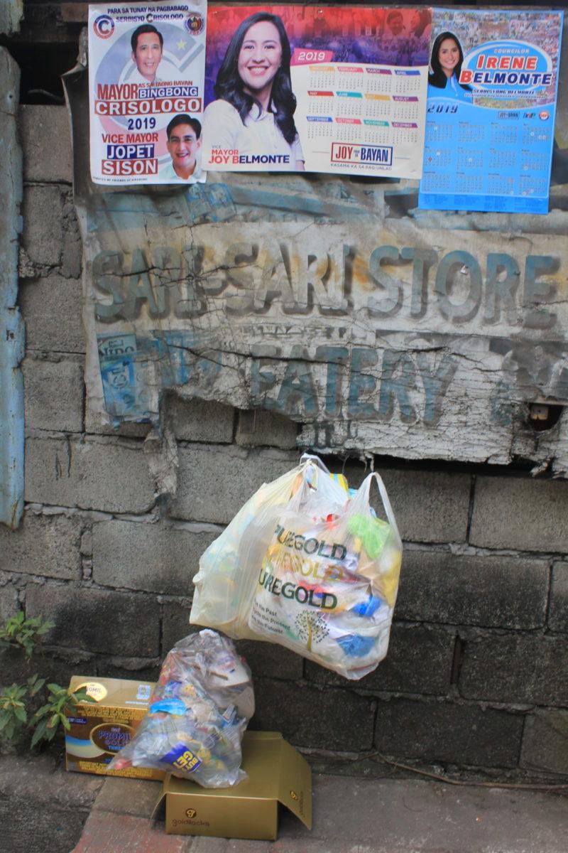 Haushaltsmüll in Quezon City © Mirjam Overhoff