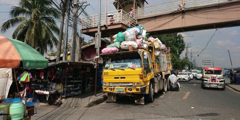 Foto 2 von 3:<br>Städtische Müllabfuhr in Quezon City © Mirjam Overhoff