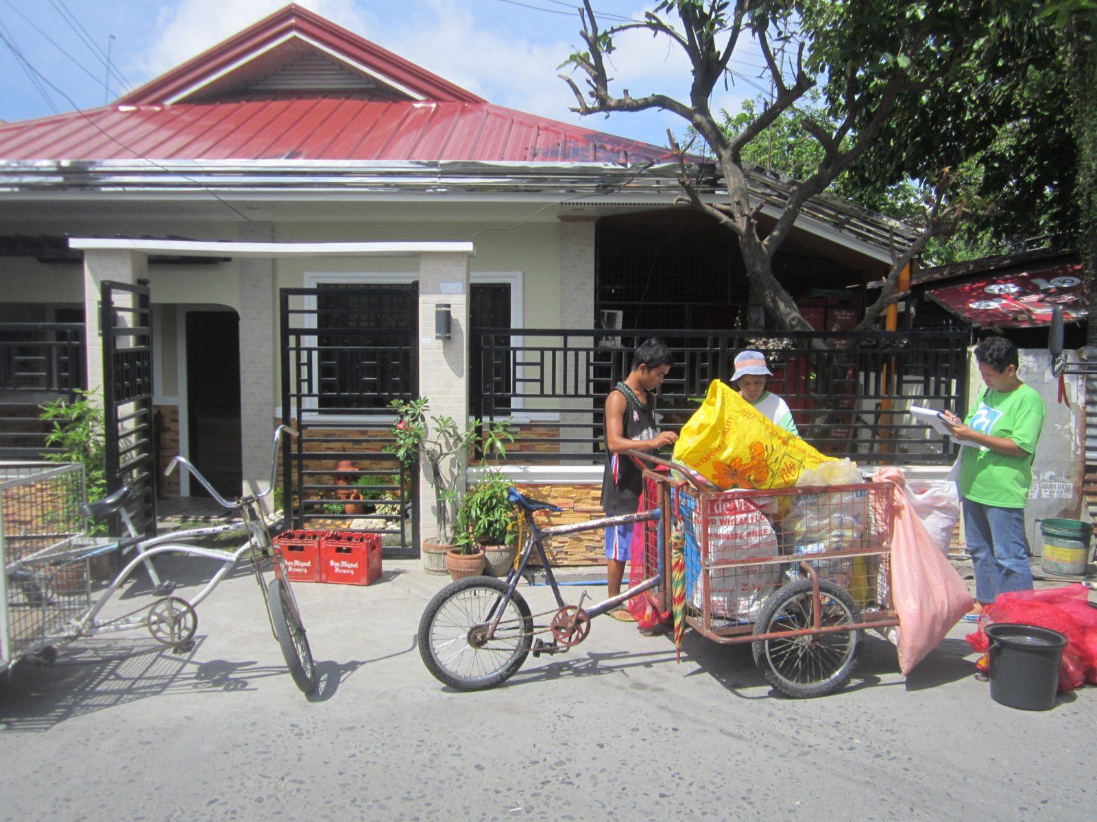 Die City of San Fernando hat städtische Müllsammler*innen eingestellt © Mother Earth Foundation