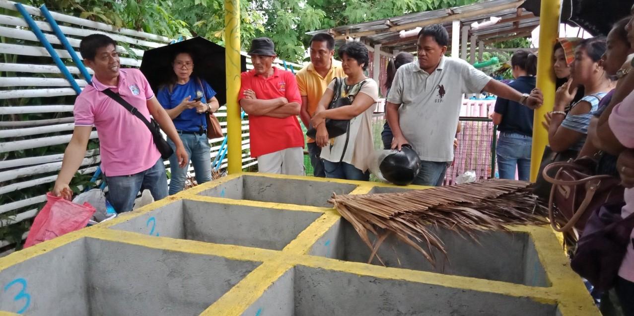 Vermi-Kompostierung in Tacloban City © Mother Earth Foundation