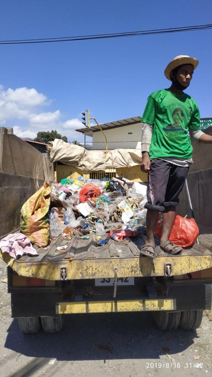 Müllabfuhr in Dili © Philip Ray