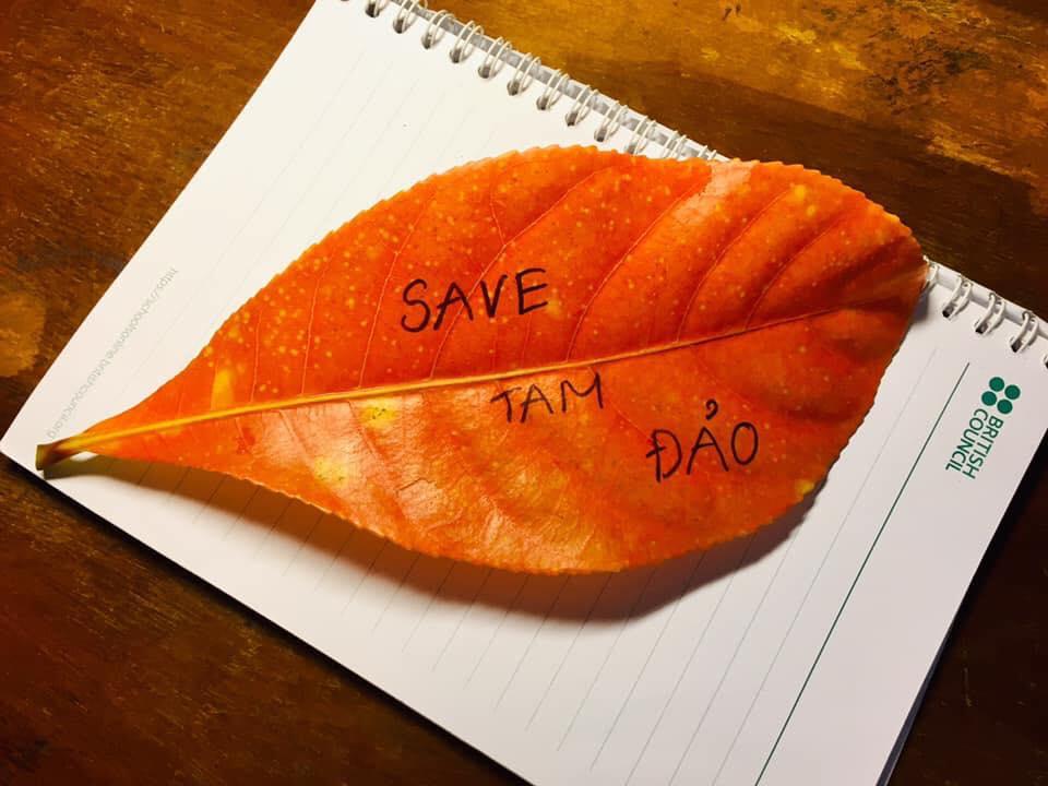 """""""Save Tam Dao"""" © Save Tam Dao"""