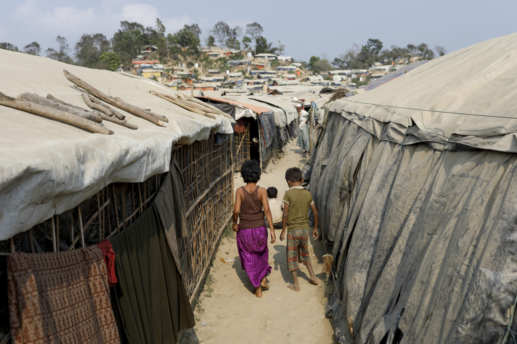 Rohingya im Flüchtlingscamp in Cox's Bazar, Bangladesh 2018 © European Union 2018, CC BY-NC-ND 2.0
