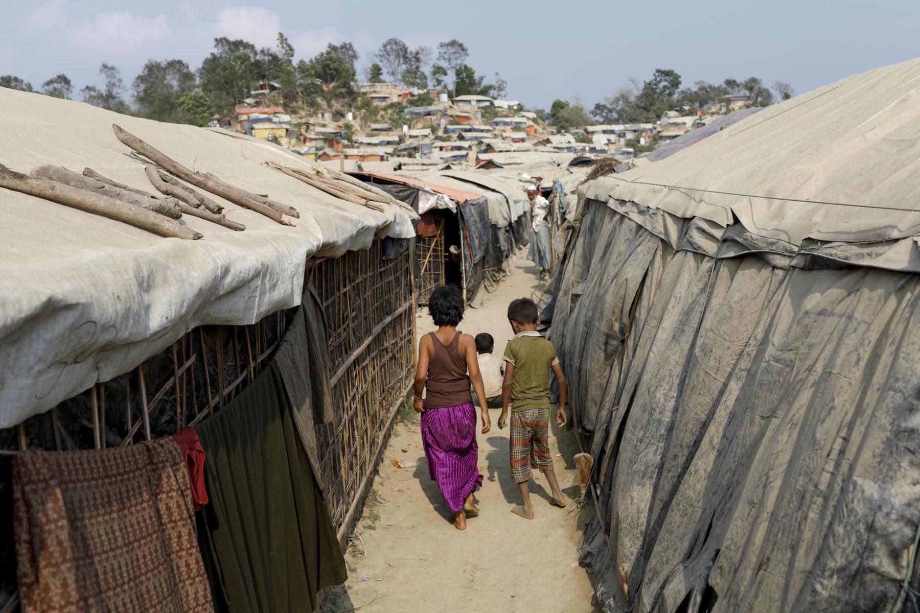 Rohingya im Flüchtlingscamp in Cox's Bazar, Bangladesh 2018 © European Union 2018, CC BY-NC-ND 2.0