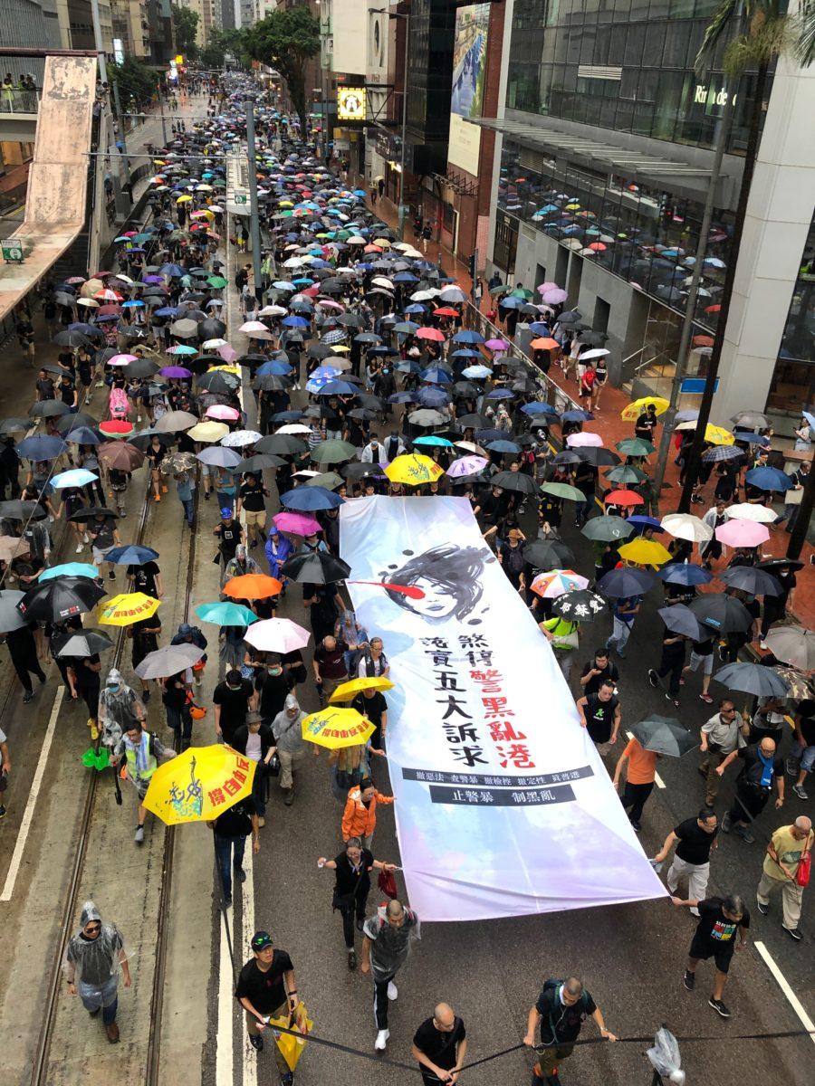 Hongkong: Polizeigewalt ist keine Antwort auf die Forderung nach Demokratie © Vivienne Chow