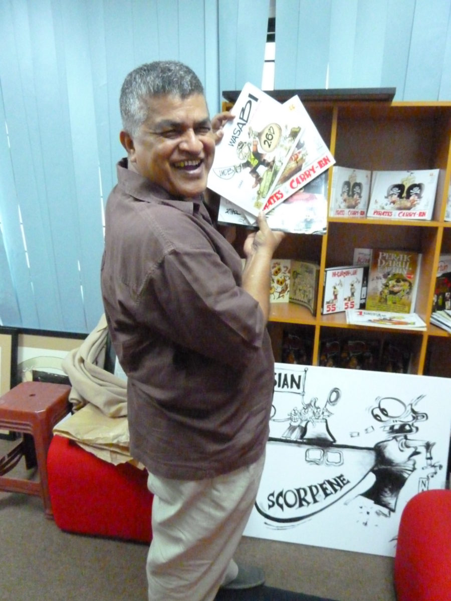 Cartoonist Zunar 2 © Genia Findeisen