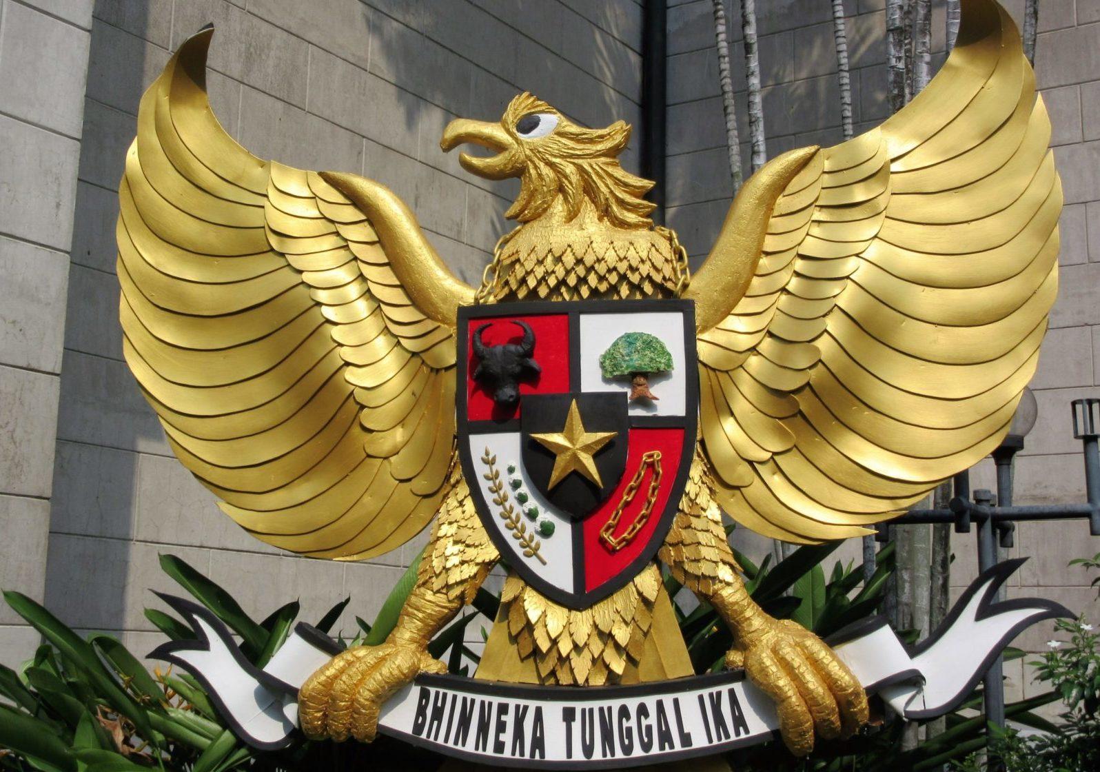 Indonesien: Garuda, Pancasila