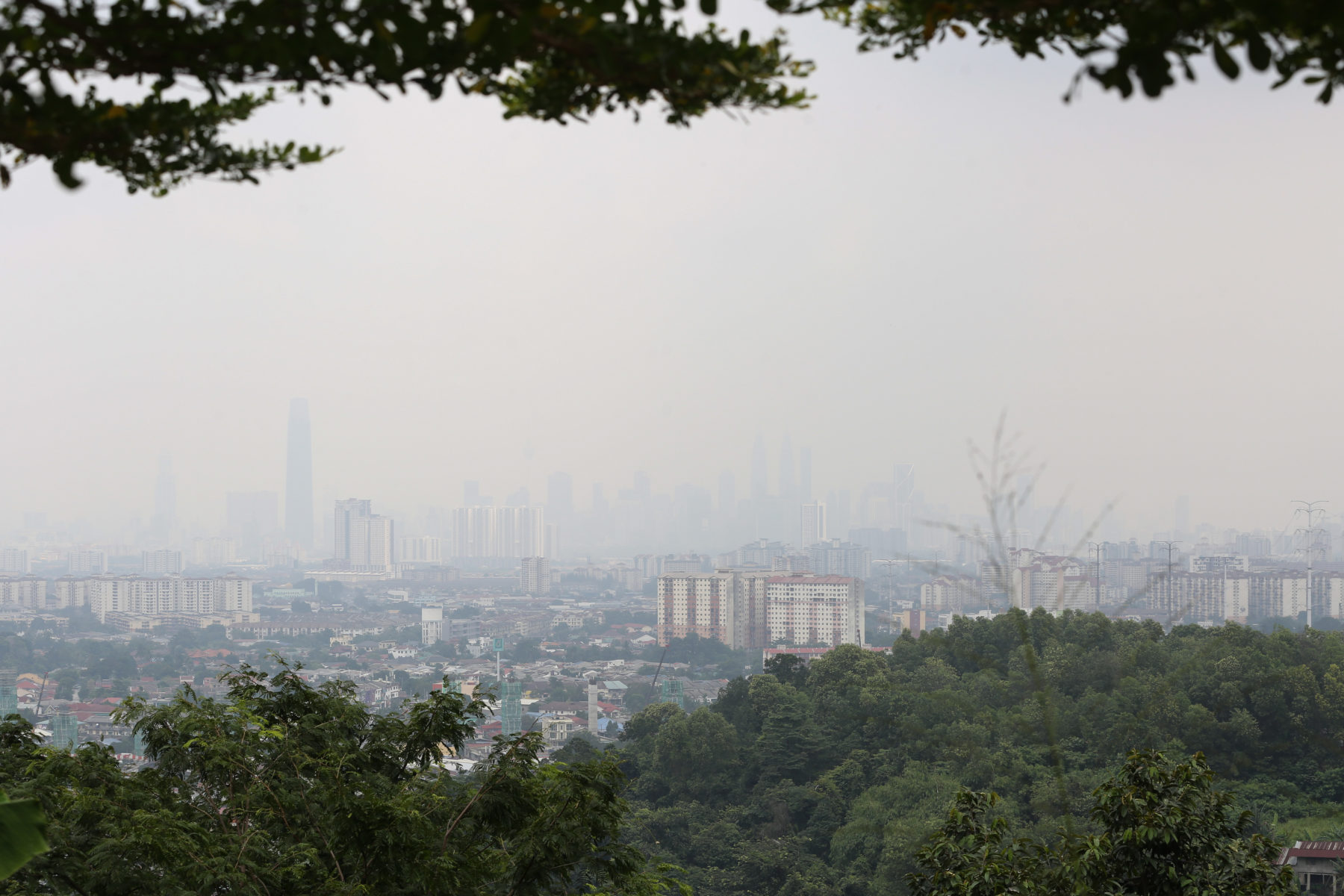 """Haze"" in Malaysia © Yusof Mat Isa"