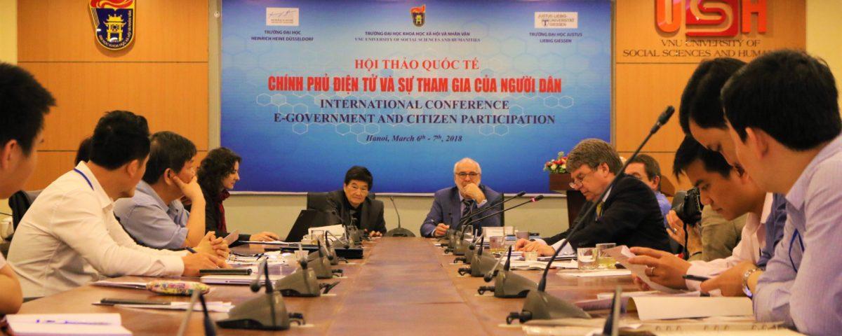Vietnam E-Government Demokratie