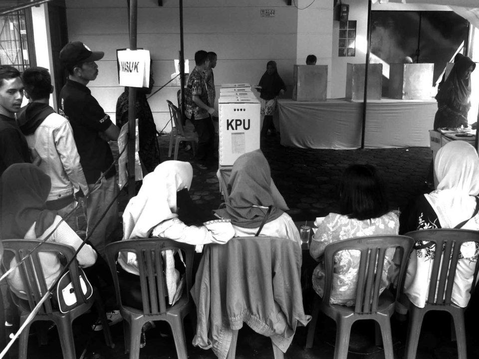 Indonesien Mobilisierung des Überdrusses