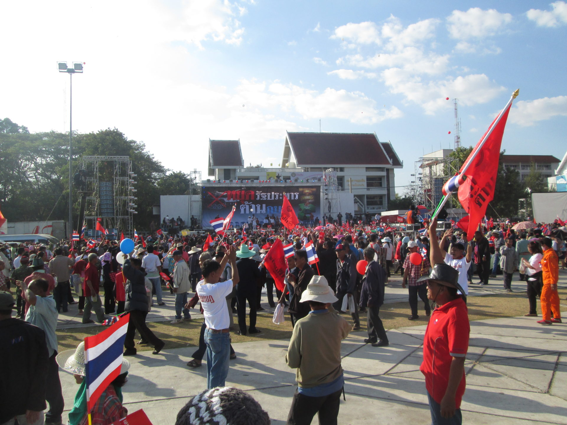 Thailand Militärputsch Protestmusik
