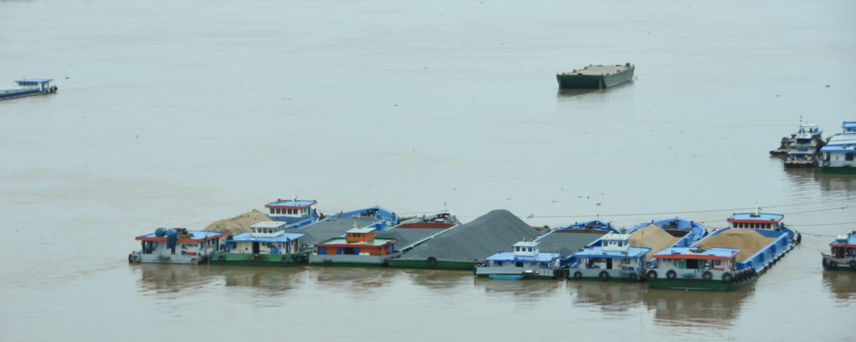 Versinkendes Mekongdelta
