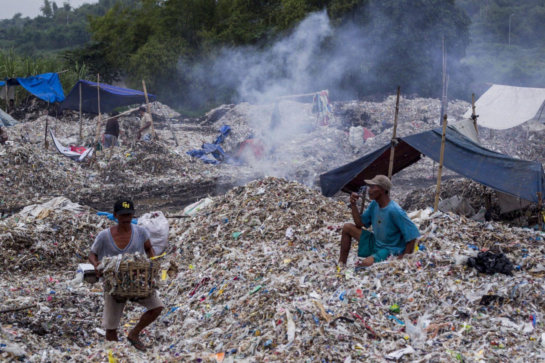 Indonesien Recycling Altpapier