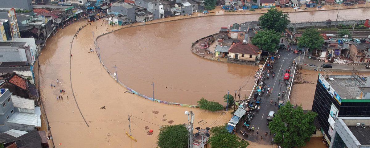 Indonesien Überschwemmungen Stadtplanung