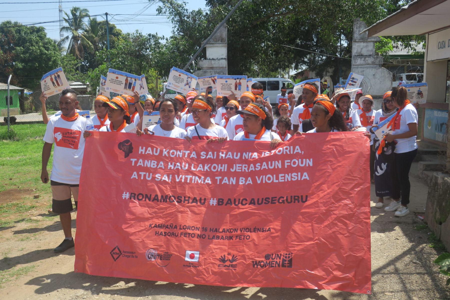 Timor-Leste Frauen Gewalt