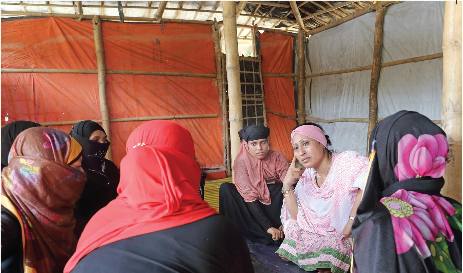 Fabeha.Monir&.Allison.Joyce.Myanmar.Hakim Para Camp.006