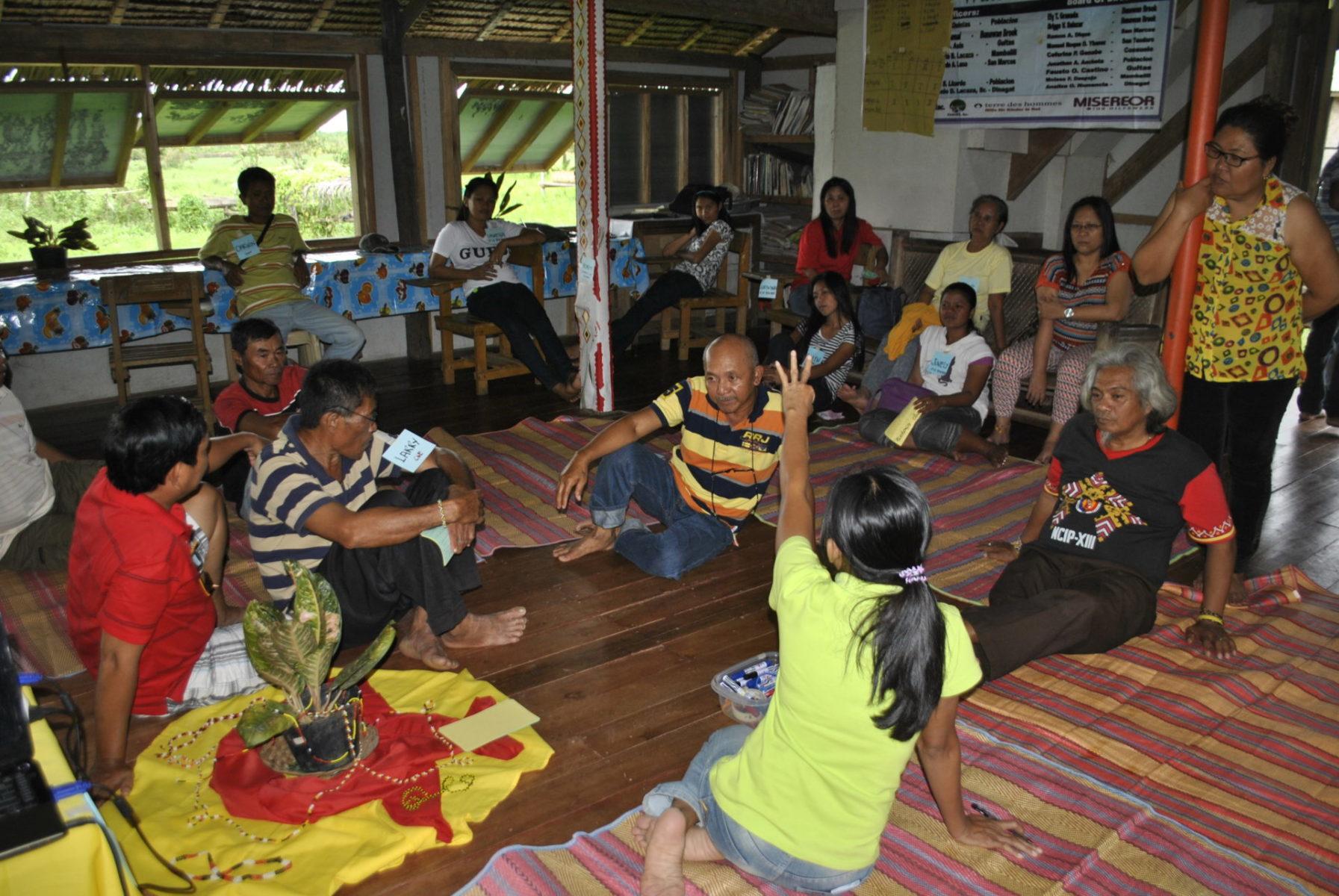 Philippinen indigene Führungskräfte