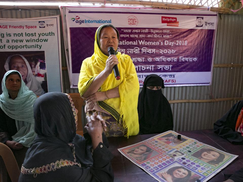 Rohingya Frauen Diaspora