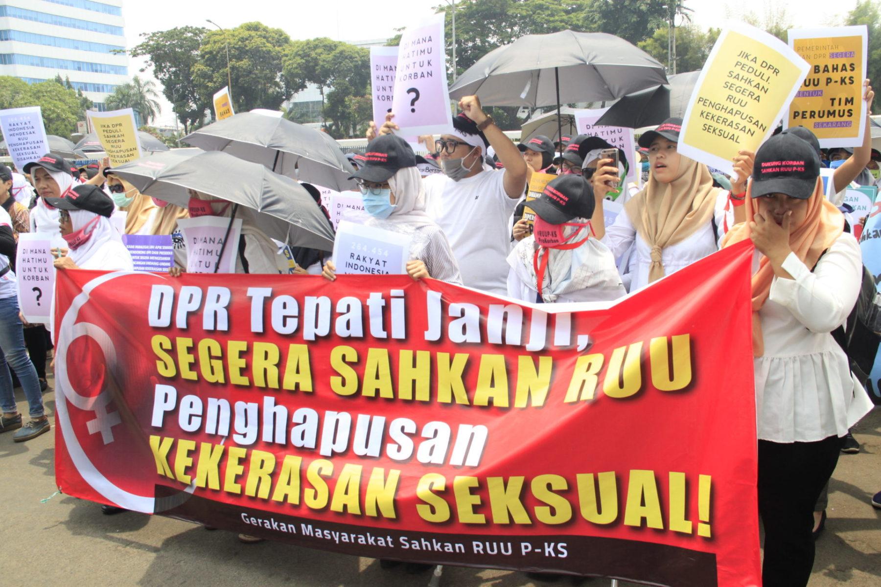 Indonesien Beendigung sexualisierter Gewalt