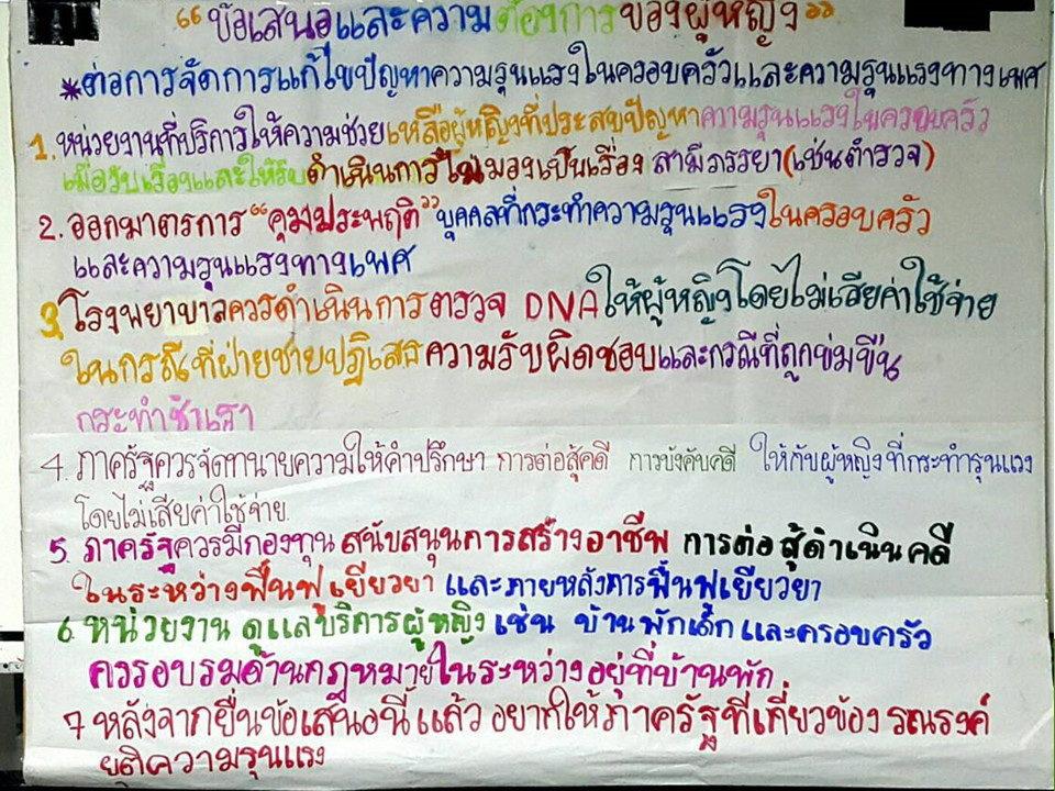 Thailand #MeToo