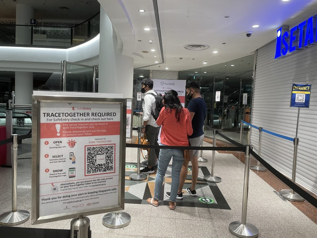 Singapur Tracing