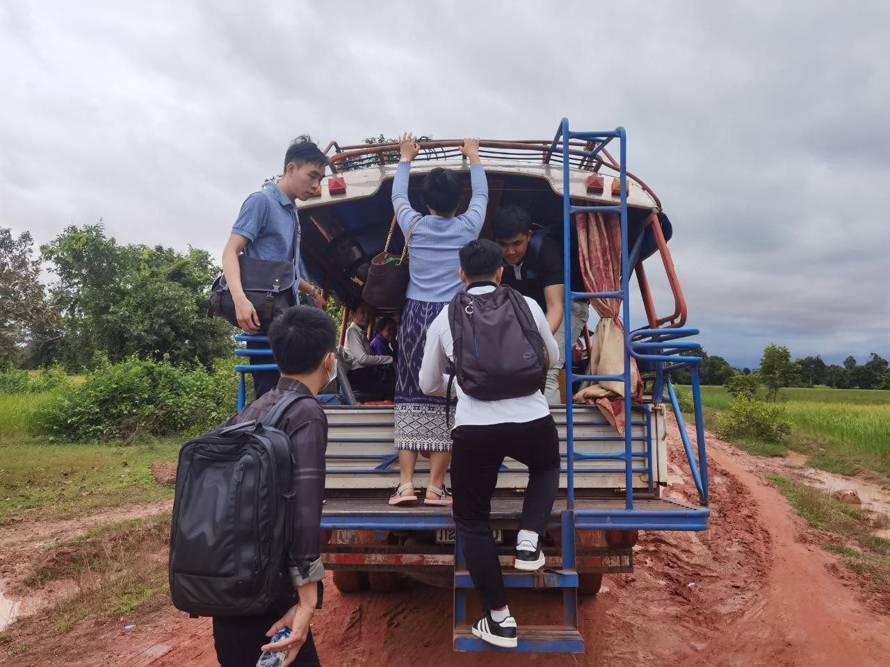 Laos Forscherteam