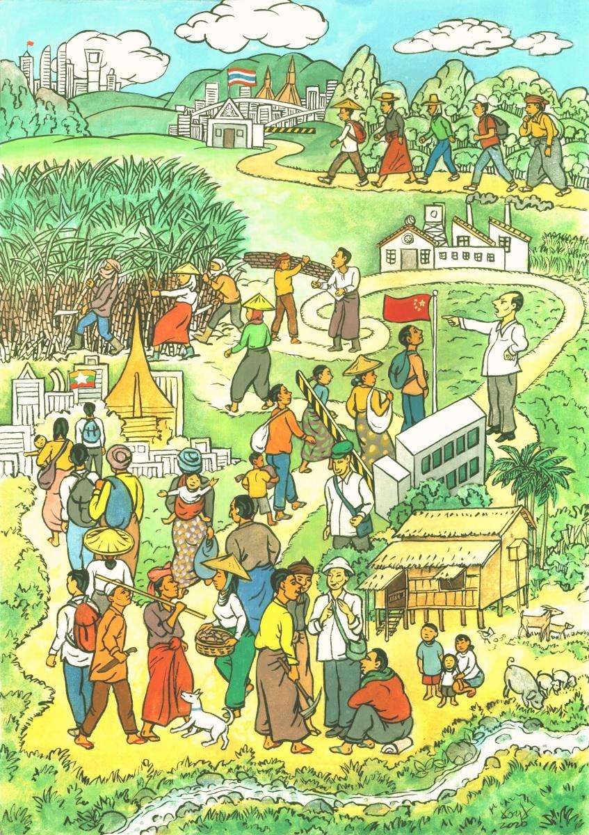 Myanmars Arbeitsmigrant*innen: zurück in die Vergangenheit?