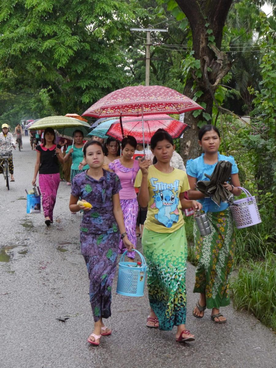 Myanmar Wanderarbeiter*innen