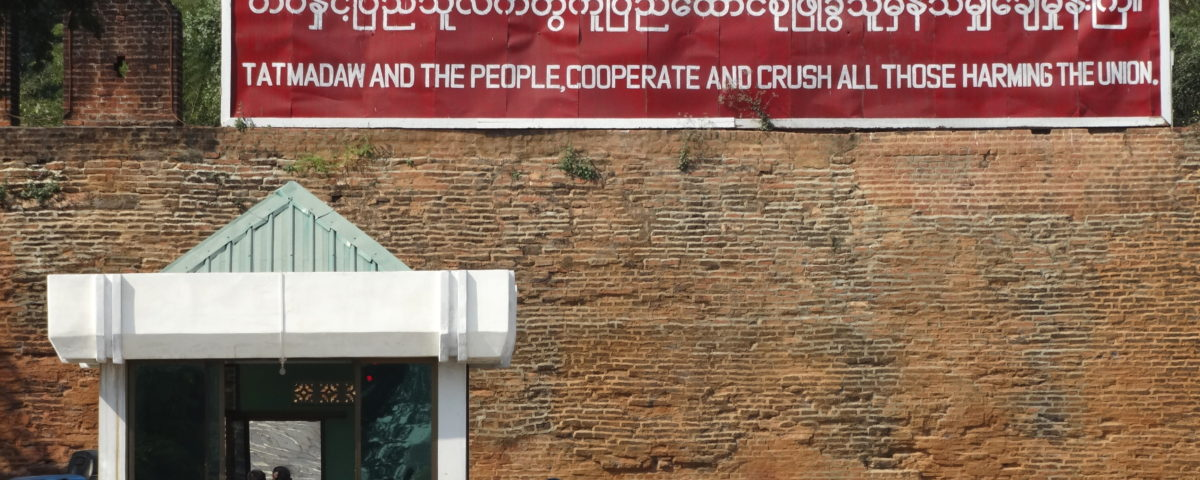 Myanmars konkurrierende Systeme