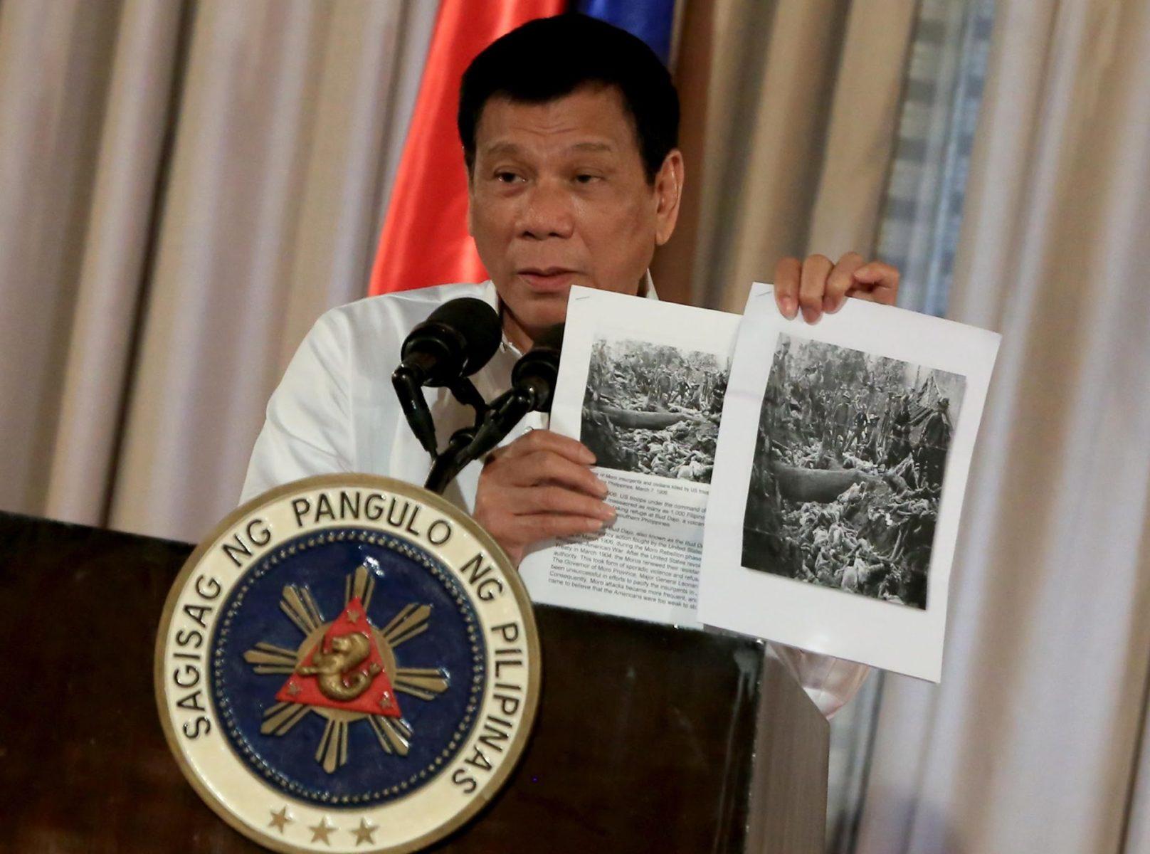 Duterte Geschichtspolitik